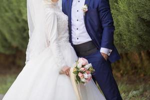 feliz Dia de casamento foto