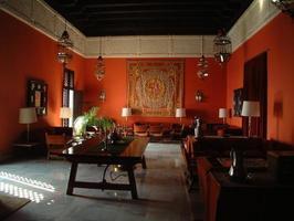 sala de recepção espanhola ornamentada