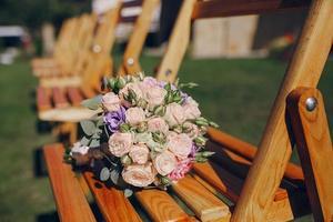 dia do sol do casamento foto
