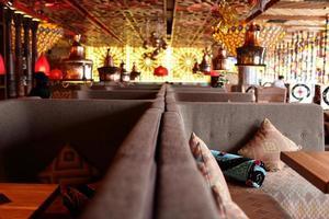 interior de restaurante asiático