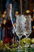 champanhe. foto