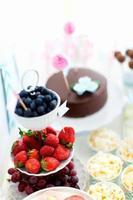 mesa de sobremesa foto