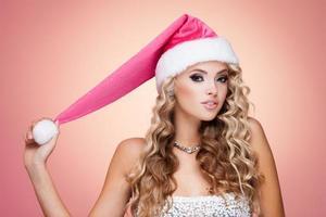chapéu de natal foto