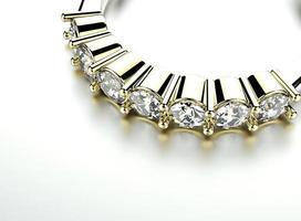 anel de ouro com diamante. fundo de joias