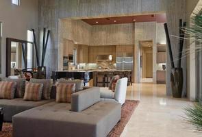 vista interior de casa moderna