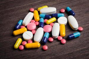 pilha de comprimidos