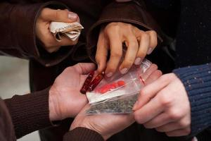 traficantes de drogas pesadas foto