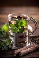 copo de chá foto