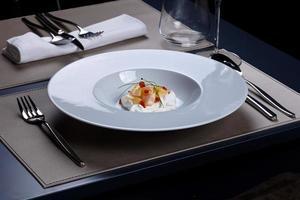 refeição gourmet foto