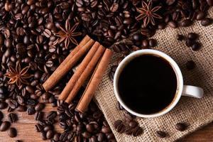 café ainda vida foto