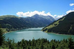 lago na áustria foto