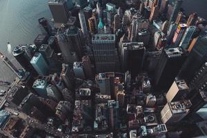 foto aérea de edifícios