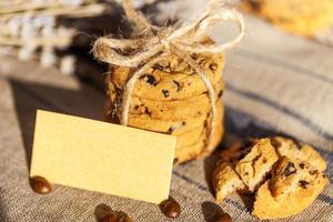 biscoitos de chocolate