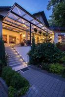 entrada para residência de luxo