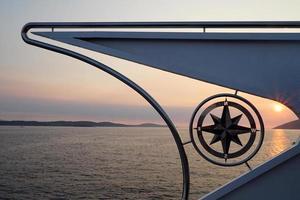 bússola de barco