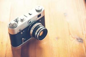 câmera velha vintage