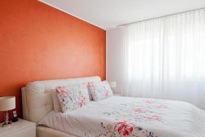 interior residencial de casa moderna foto