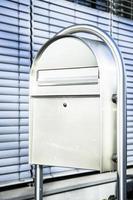 caixa de correio moderna foto