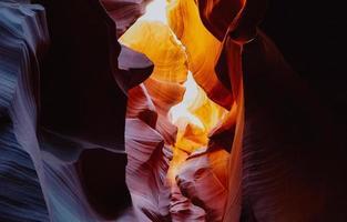 cânion antílope no arizona