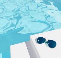fundo ilustrativo de piscina