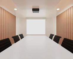 moderna sala de reuniões de escritório