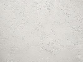 parede de estuque branco foto