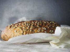 pão artesanal rústico