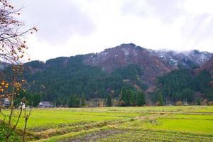 gokayama, abundante em recursos naturais, cultura e patrimônio