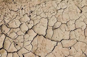 chão seco do deserto