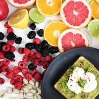pacote de frutas sortidas foto