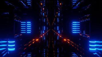 portal de servidor de dados de alta tecnologia 3d