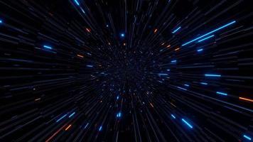 luz ciberespaço 4k uhd 3d ilustração de fundo