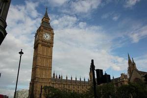 o palácio de Westminster, Londres foto