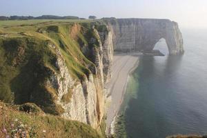 falésias oceânicas na França