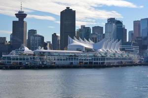 horizonte de Vancouver durante o dia