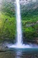 cachoeira no salto del claro, chile