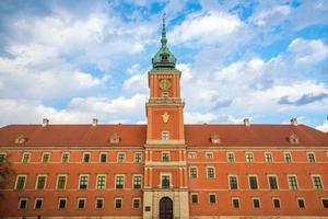 castelo real em Varsóvia
