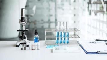 uma visão de um laboratório de ciências