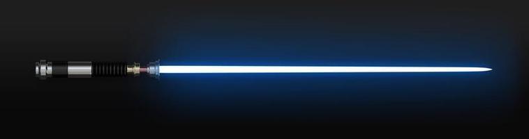 espada de luz laser branca