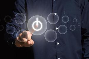ícone de energia digital