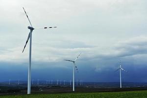 turbinas eólicas elétricas foto