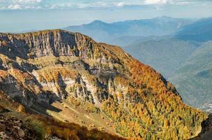 outono nas montanhas