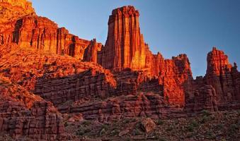 Grand Canyon na hora dourada foto