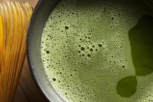 chá verde matcha orgânico