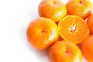 laranja isolada foto