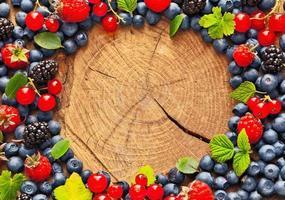 frutas frescas suculentas foto
