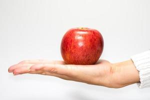 maçã fresca foto