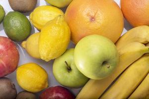 frutas misturadas foto