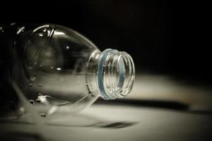 garrafa de plástico foto