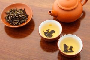 cerimônia do chá chinês foto